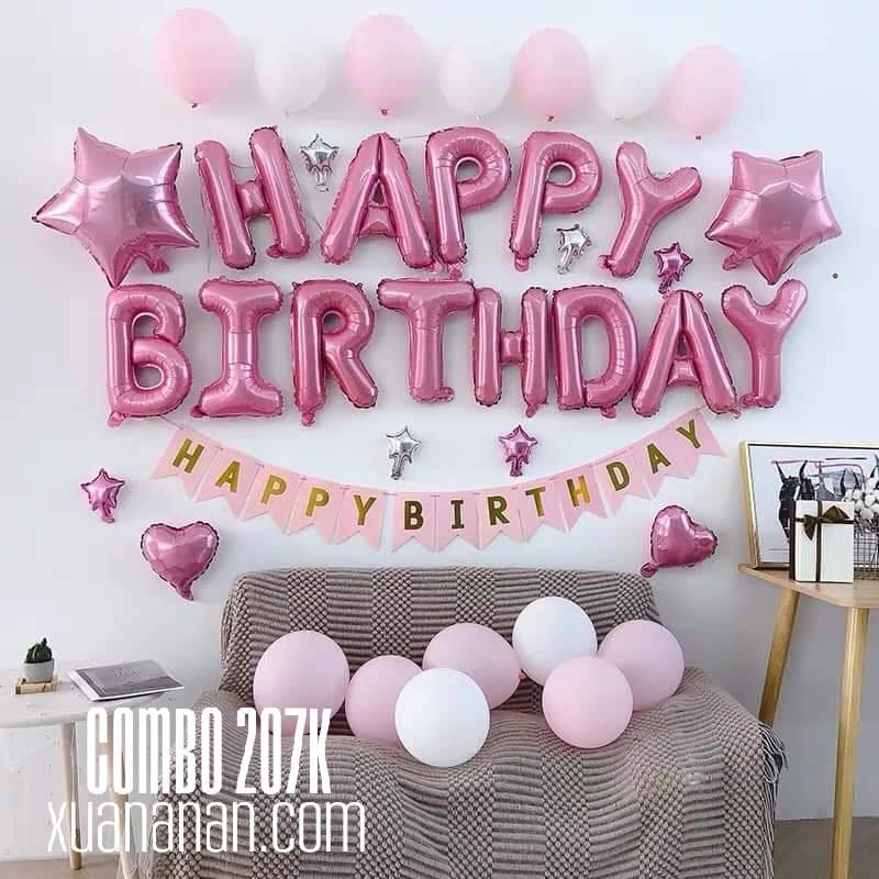 Mommy Decor - combo trang trí sinh nhật mẹ tự tay trang trí cho bé - 12