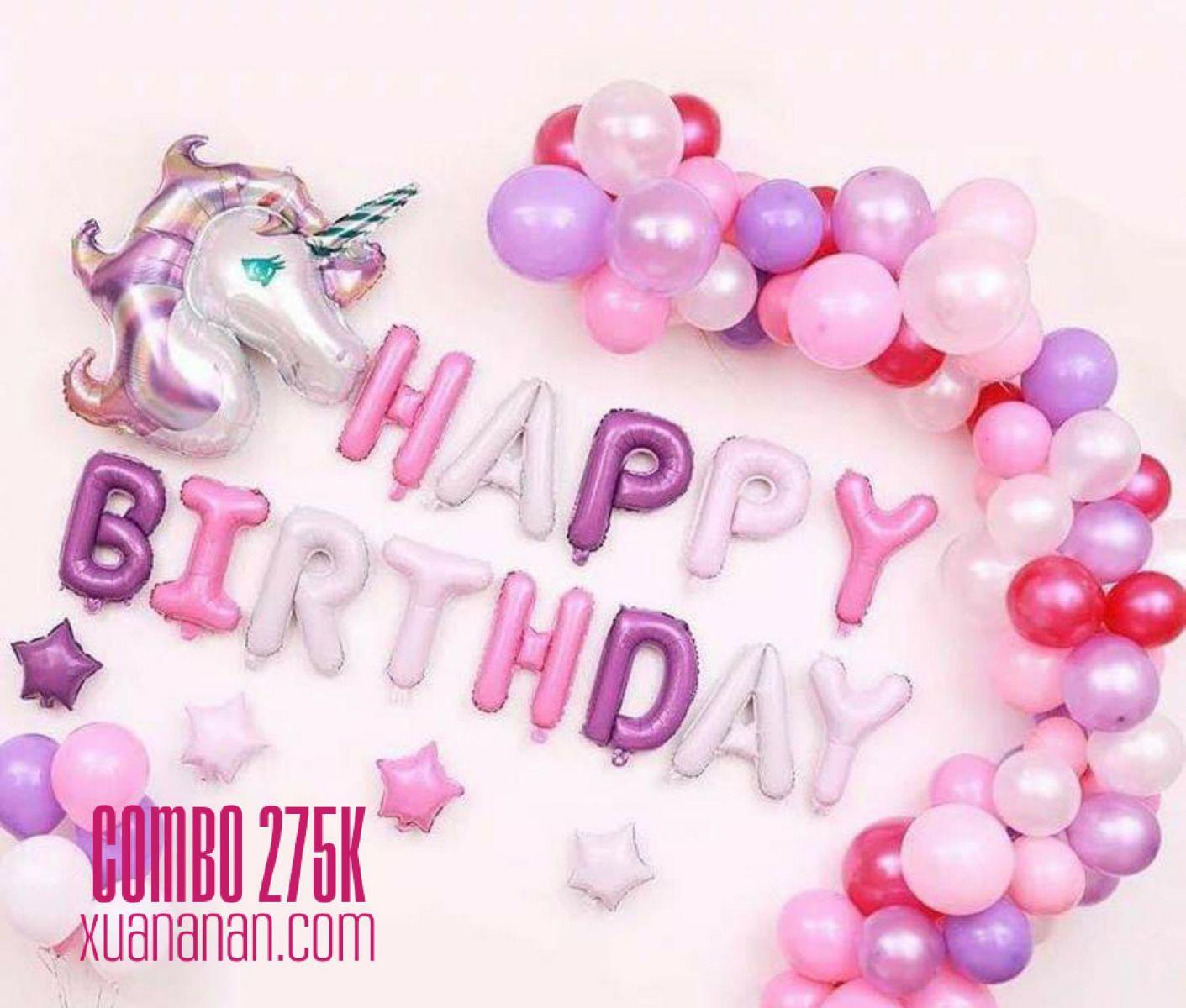 Mommy Decor - combo trang trí sinh nhật mẹ tự tay trang trí cho bé - 4